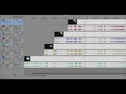 Hướng dẫn tách tiếng hát khỏi nhạc nền làm beat karaoke bằng Sony Vegas HD 1080p