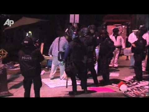 200 Arrested at Occupy Los Angeles, Park Cleared