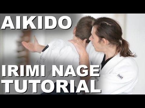 How to do Irimi Nage Technique (Aikido)