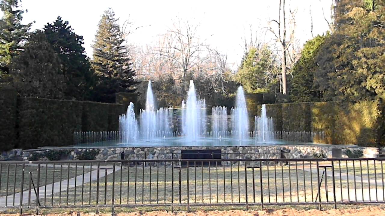 Daytime Fountain Show Longwood Gardens Kennett Square Pa Hd Youtube