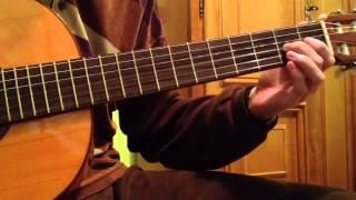 Guitarra: punteo fácil - rumba