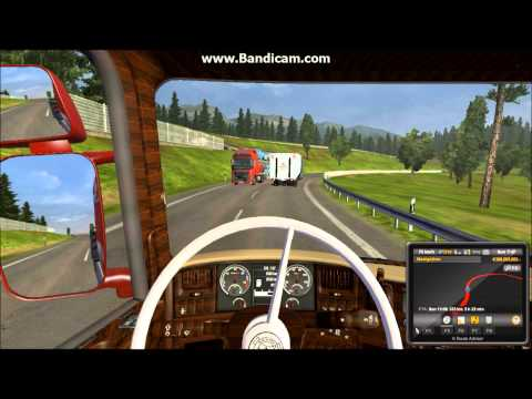 ets2 scania R620 v8 vabis interior gameplay