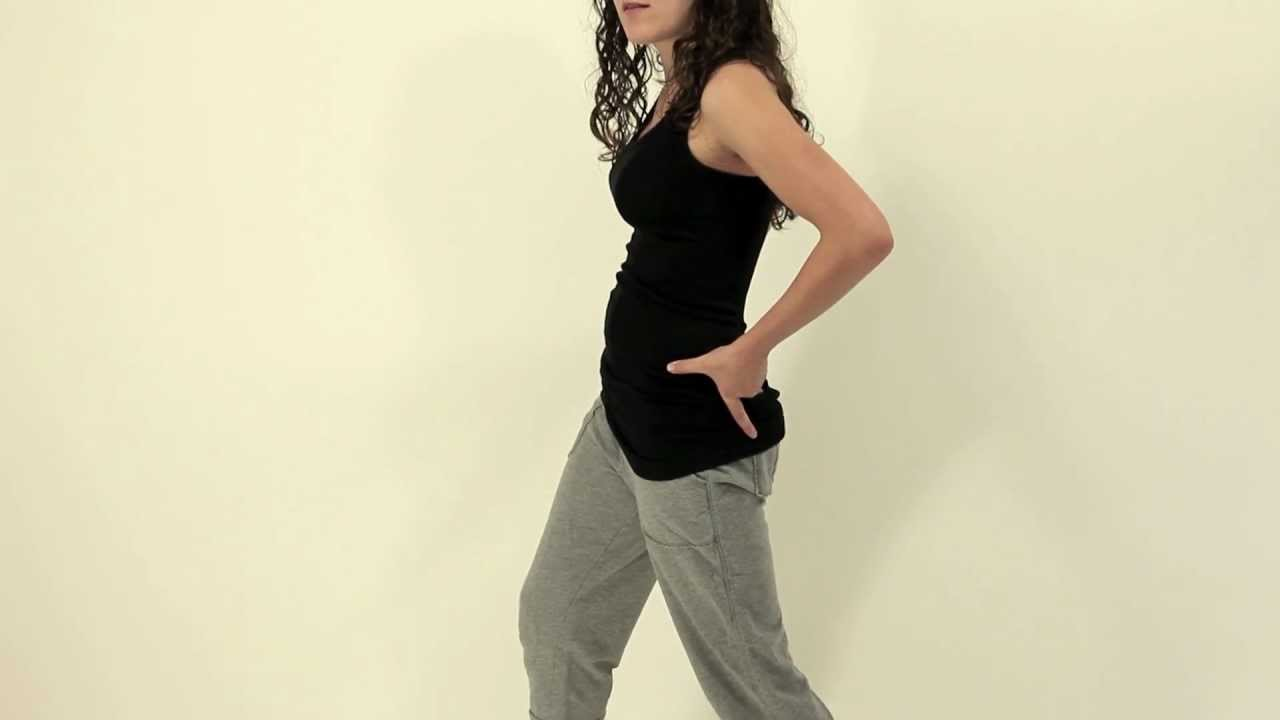 Hip Exercise - Standing Hip Flexor Stretch - YouTube