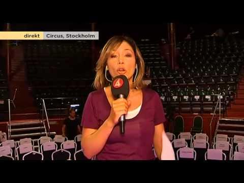 Tilde de Paula Eby inför kvällens gala Tillsammans mot cancer - Nyhetsmorgon (TV4)