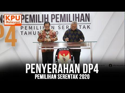 Penyerahan DP4 Pemilihan Serentak 2020