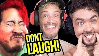 Try Not To Laugh at Youtubers Try Not To Laugh Challenge YLYL #0038