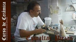 Como esmaltar una pieza cerámica con esmalte transparente
