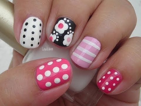 Nail Art - Girly Mix n Match