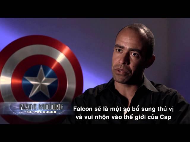 """Captain America: Chiến Binh Mùa Đông - Nhân vật mới """"The Falcon"""" cất cánh"""