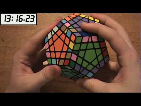 Modified Cube4You Gigaminx Solve