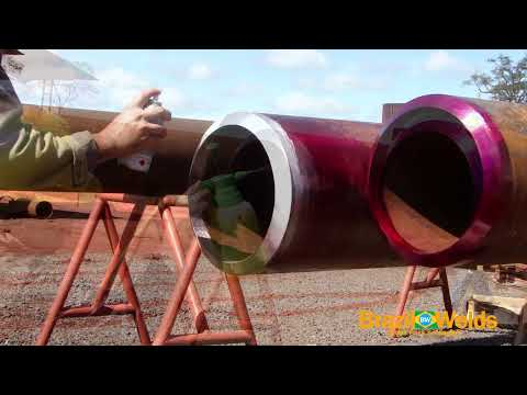 Video Aula - Passe de Raiz SA 335 P22 Solda TIG(Root Pass SA 335 P22 TIG Welding).avi