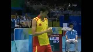 Lin Dan, Lee Chong Wei Olympic Games 2008 FINAL Part 1/5
