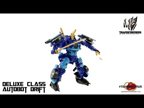 Video Review of the Transformers Age of Extinction: Deluxe Class Autobot Drift