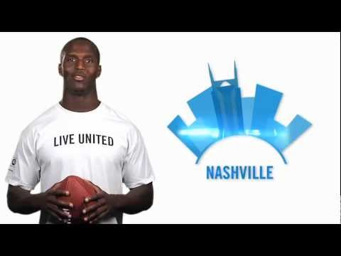 Tennessee Titan JasonMcCourty for United Way