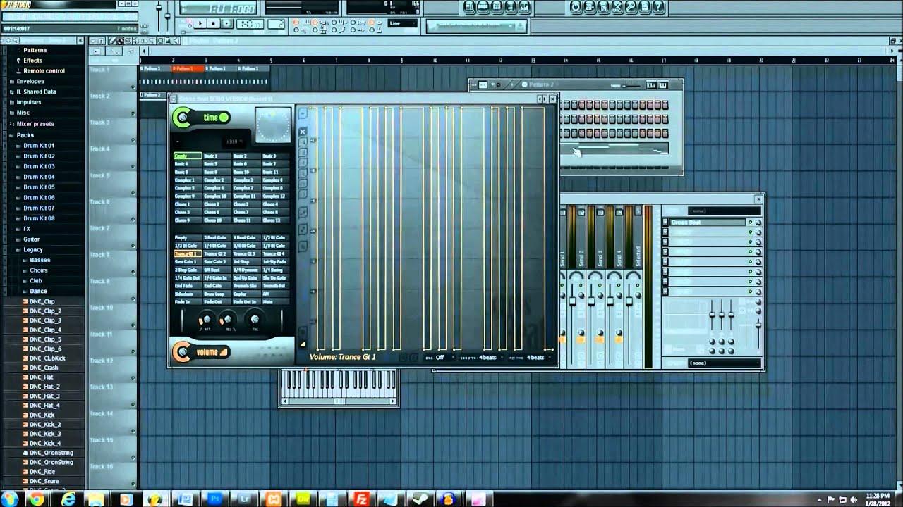 FL Studio 10 Beginner Tutorial (Starting from Nothing) HD [PART 2] - YouTube