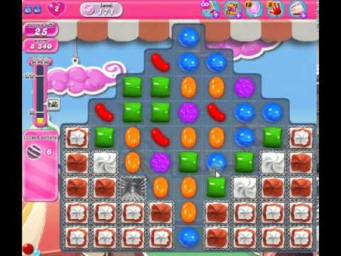 How to beat Candy Crush Saga Level 171 - 1 Stars - No Boosters - 42