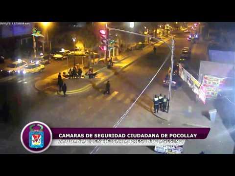 CAMARAS DE VIDEO VIGILANCIA DE POCOLLAY AYUDAN A IDENTIFICAR A PRESUNTUO ASESINO