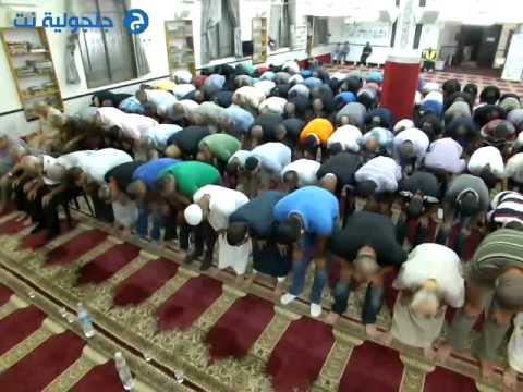 صلاة العشاء والتراويح 15 من رمضان من مسجد البخاري -