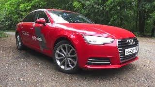 2016 Audi A4 (B9) 1.4 TFSI S-tronic. Test Drive.. MegaRetr