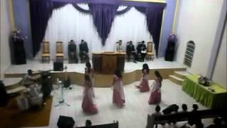 Ministério Shekinah Coreografia Sinais De Deus (Raquel