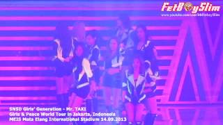 SNSD GIRLS' GENERATION MR. TAXI Live In Jakarta