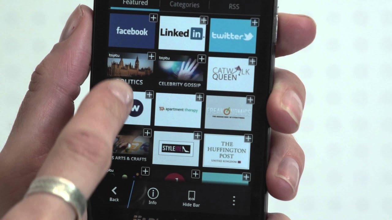top blackberry apps