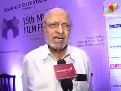 Shyam Benegal Talks About 15th Mumbai Film Festival 2013 | Bllywood Event | MAMI, Ramesh Sippy,