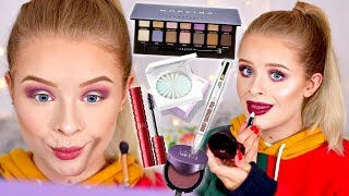 TESTING NEW POPULAR MAKEUP.. WORTH THE HYPE?! MY HONEST OPINIONS 😅| sophdoesnails