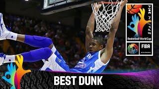Puerto Rico v Greece - Best Dunk - 2014 FIBA Basketball World Cup