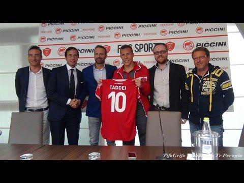 Perugia calcio, Presentazione Rodrigo Ferrante Taddei