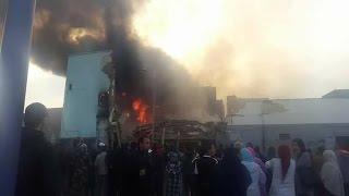 شهادات صادمة وصور مؤلمة من قلب فاجعة سلا... حريق/موت/انهيار عمارتين |