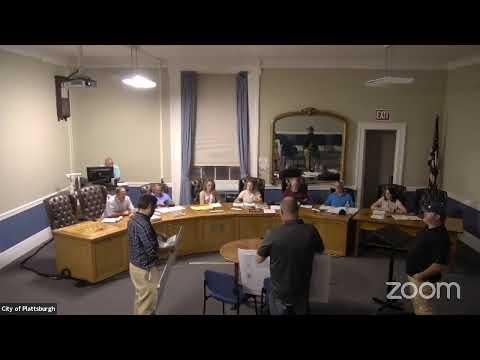 Plattsburgh Zoning Board of Appeals Meeting  8-16-21