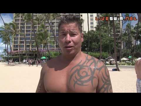 Jay Greenwood Post Race Interview - 2010 Waikiki Rough Water Swim