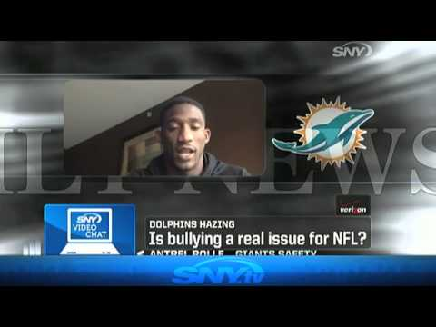 Antrel Rolle talks bullying on SNY
