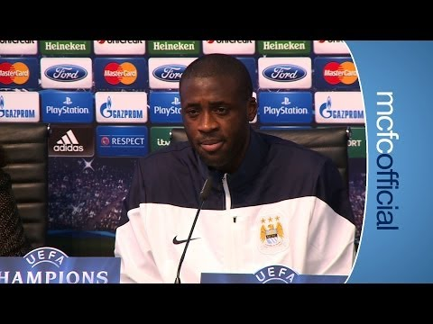 YAYA ON BARCELONA | Champions City v Barca Yaya Toure press conference