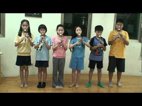 許老師奧福音樂(合奏班)---直笛吹奏---g大調德國波爾