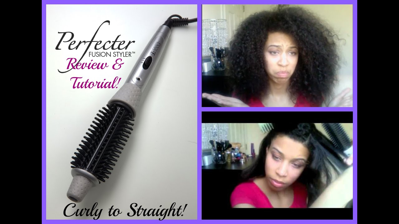 ... to STRAIGHT Tutorial + Perfecter Fusion Styler Review!!! - YouTube
