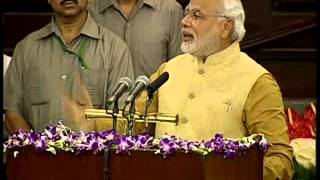Shri Narendra Modi Speech In Central Hall Of Parliament