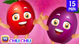 Plum Song   Learn Fruits for Kids   Fruits Songs Collection   ChuChu TV Nursery Rhymes & Kids Songs