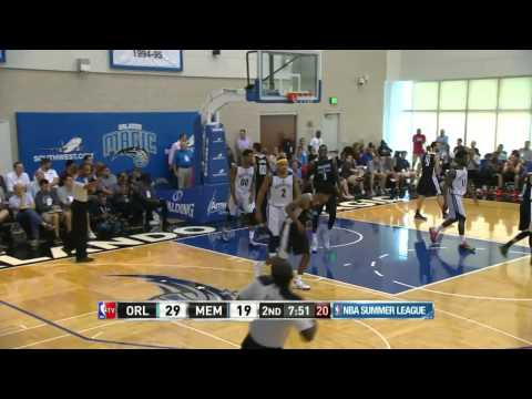 Orlando Magic vs Memphis Grizzlies | July 8, 2014 | NBA Summer League 2014