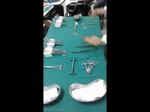 Vídeo aula Instrumentação Cirúrgica II