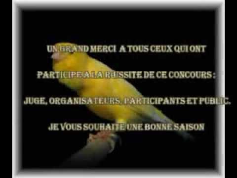 ZINE-EDDINE HRIRA - Le 6ème National du canari de chant malinois MEKNES 2012.
