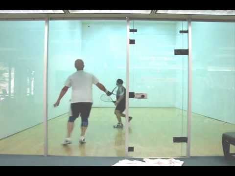 How to Play Racquetball - Gameplay Analysis for Ted