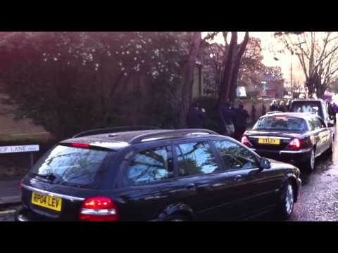 Ronnie Biggs funeral