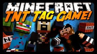 Minecraft: TNT TAG! (BRAND NEW Mini-Game)