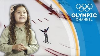 Kids Jury Commenting on Victorious Ski Aerials | Kids Call