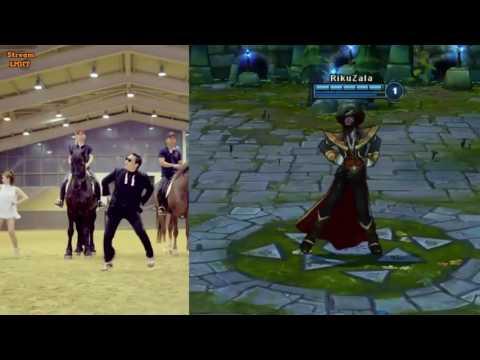 Những điệu nhảy cực giống trong Liên Minh Huyền Thoại #1 Channel Thuận Gaming