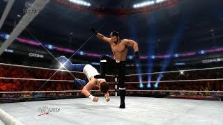 WWE 2K15: Seth Rollins Catapult Blackout / Curb Stomp