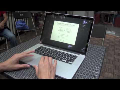 Mở hộp Macbook Pro Retina 15