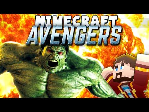 Minecraft - Avengers - HULK SMASH! [Superheroes Mod]